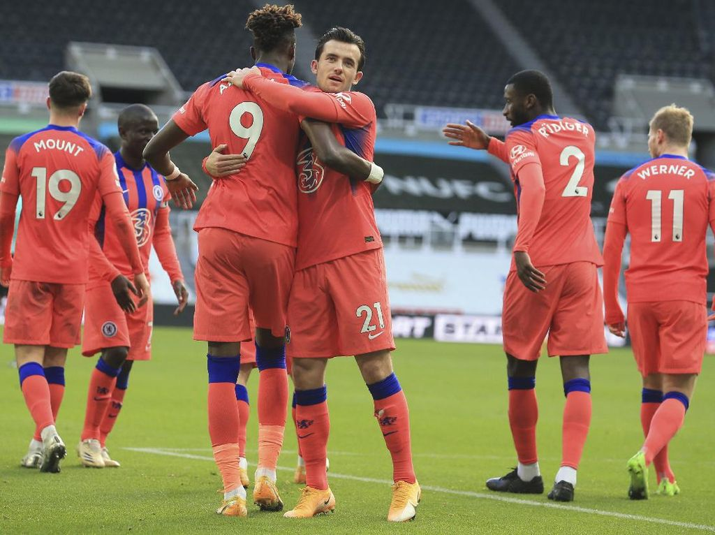 Newcastle Vs Chelsea: The Blues ke Puncak Klasemen Usai Menang 2-0