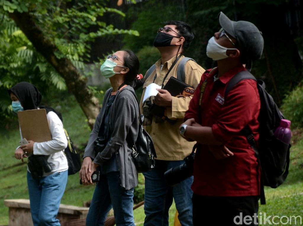 Pengamatan Keragaman Hayati Taman Kota di Masa Pandemi