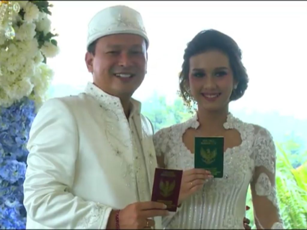Ucapan Selamat dari Selebriti untuk Pernikahan Banyu Biru dan Anastasia Adamova