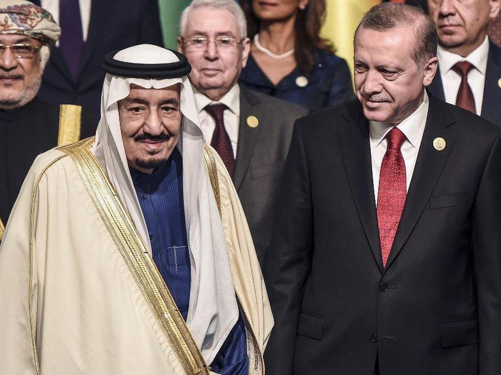 Bicara via Telepon, Raja Salman dan Erdogan Sepakat Tingkatkan Hubungan