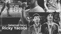 Momen Jenazah Ricky Yacobi Tiba di Rumah Duka