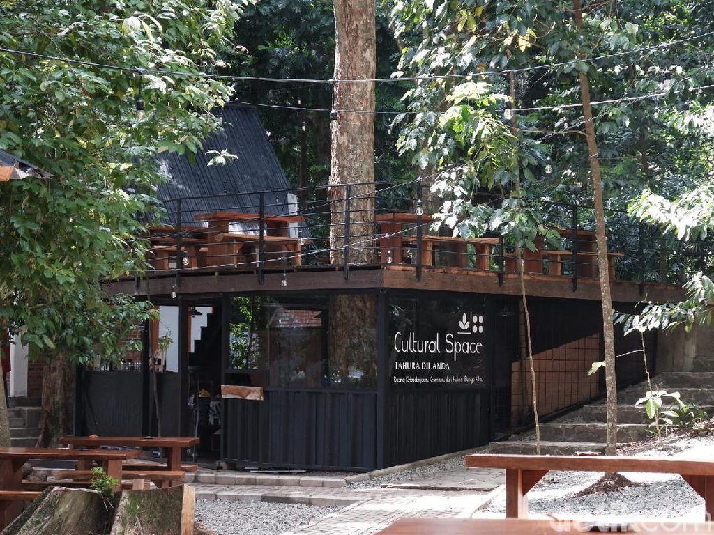 Potret Tempat Kece di Taman Hutan Raya Bandung
