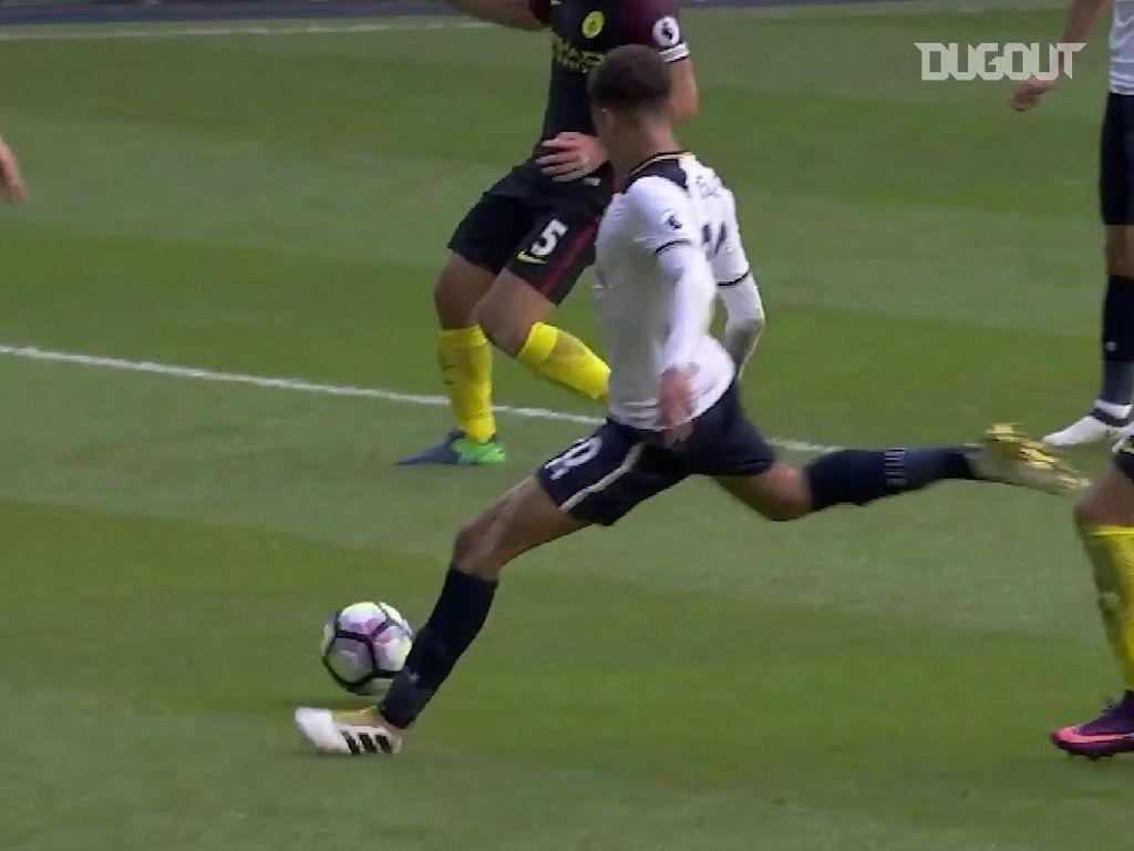 Video Gol-gol Terbaik Tottenham Lawan Man City, Ada dari Bale