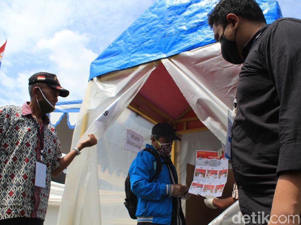 KPU Bandung Siapkan Bilik Khusus untuk Pemilih Bersuhu Tinggi