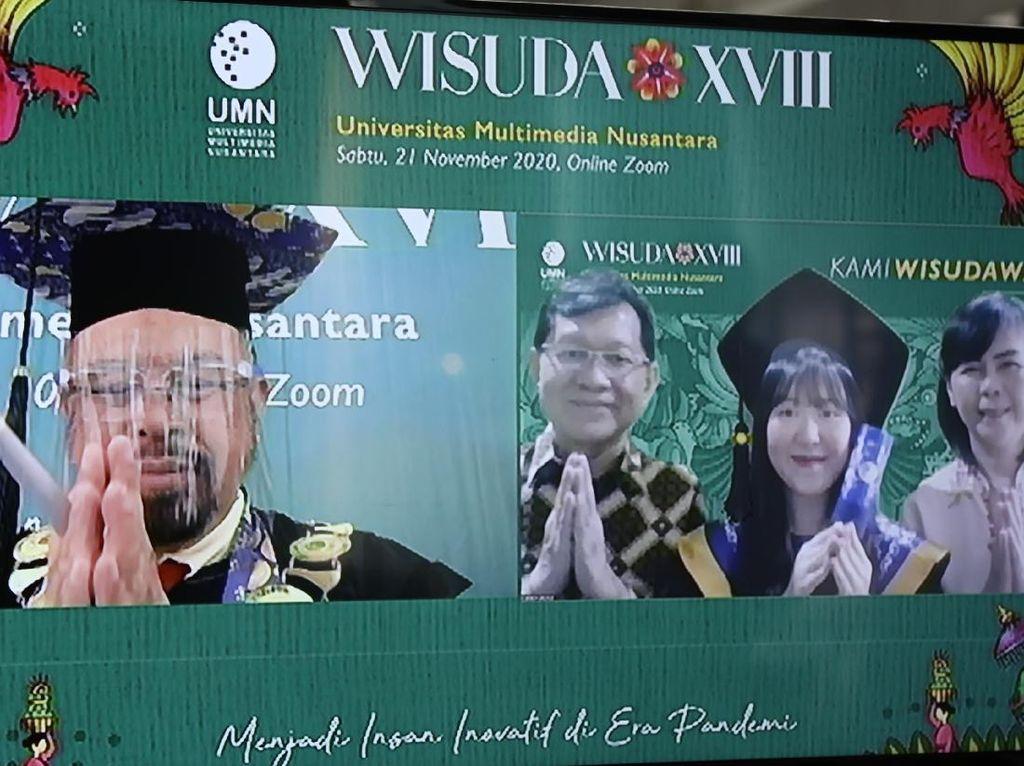 Wisuda XVIII UMN: Luluskan Wisudawan dengan Semangat Inovatif