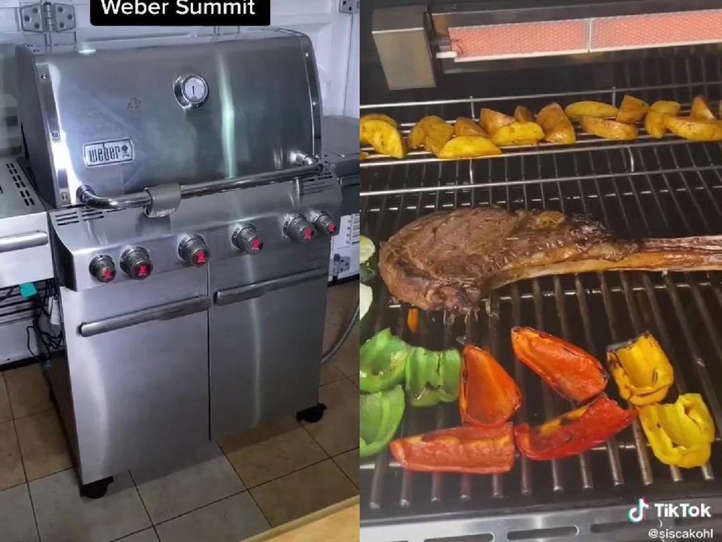 Wow! Netizen Review Mesin Panggang Steak Seharga Rp 55 Juta