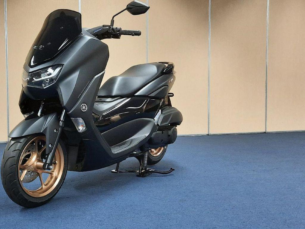 Yamaha Nmax Standar dengan Fitur Connected Seharga Rp 31 Juta