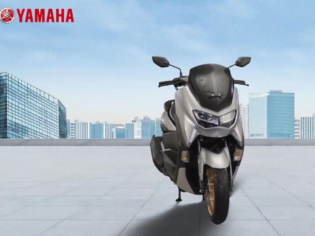 Yamaha Nmax 155 Standar Kini Ditambah Fitur Connected dan Smart Key