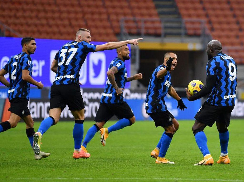 Rentetan Gol Inter Kalahkan Torino 4-2