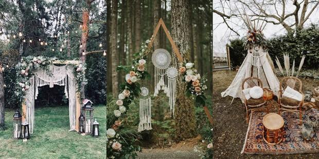 Jika kamu dan pasangan ingin memiliki tema pernikahan yang sangat bergaya tapi tetap santai, kamu bisa memilih tema pernikahan bohemian.