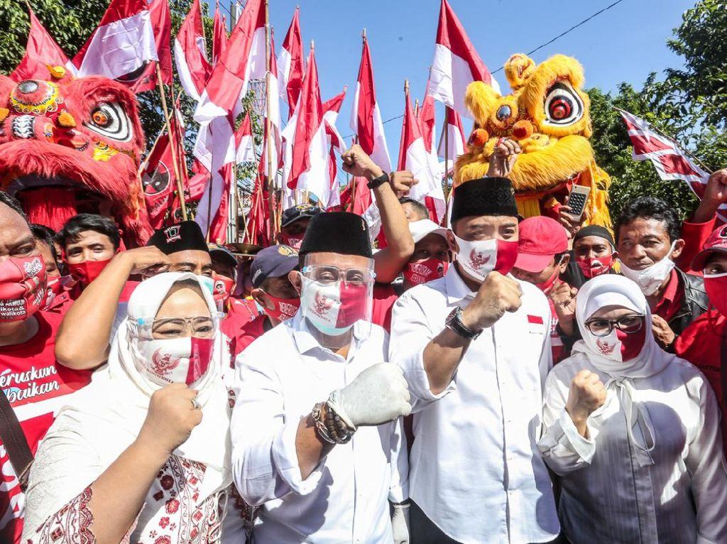 Eri Cahyadi-Armuji Unggul Survei SMRC, Ini Kata PDIP Surabaya