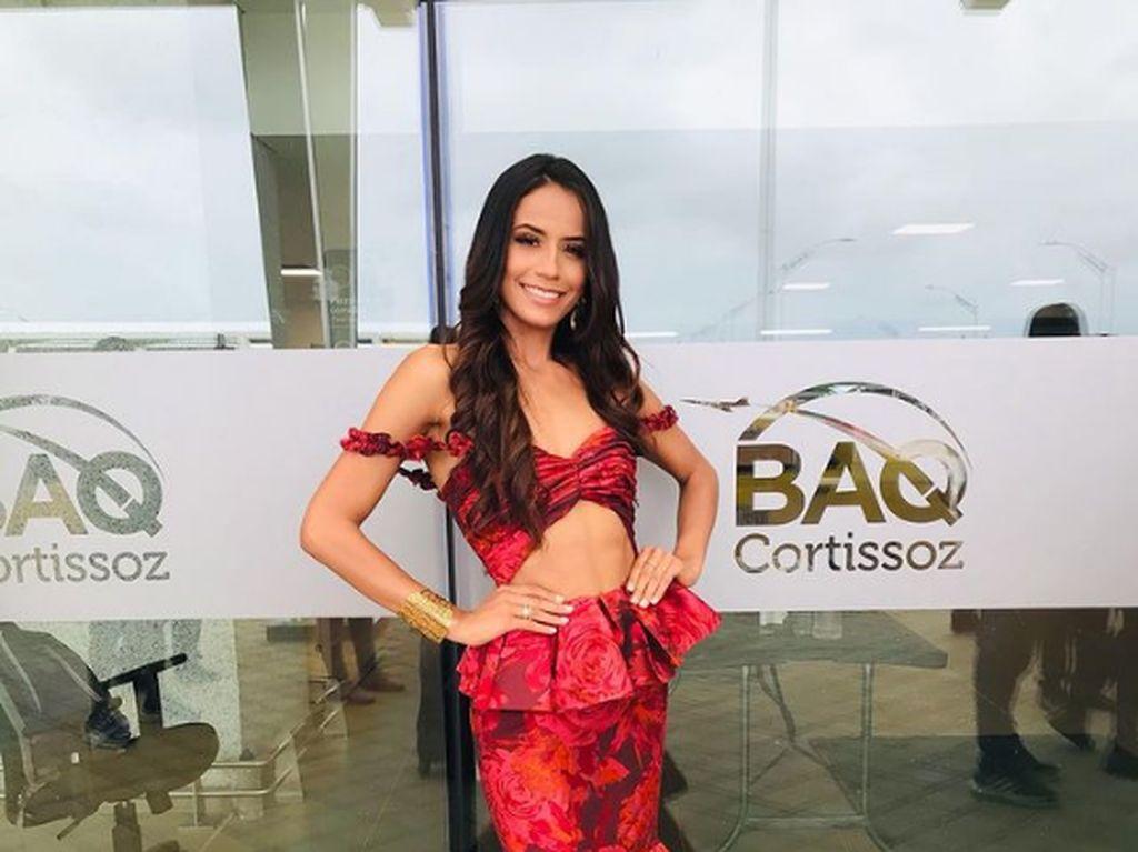 Wanita Tuli Cetak Sejarah di Miss Universe Colombia 2020, Nyaris Menang