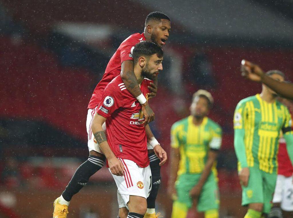 MU Buka Puasa Kemenangan di Old Trafford
