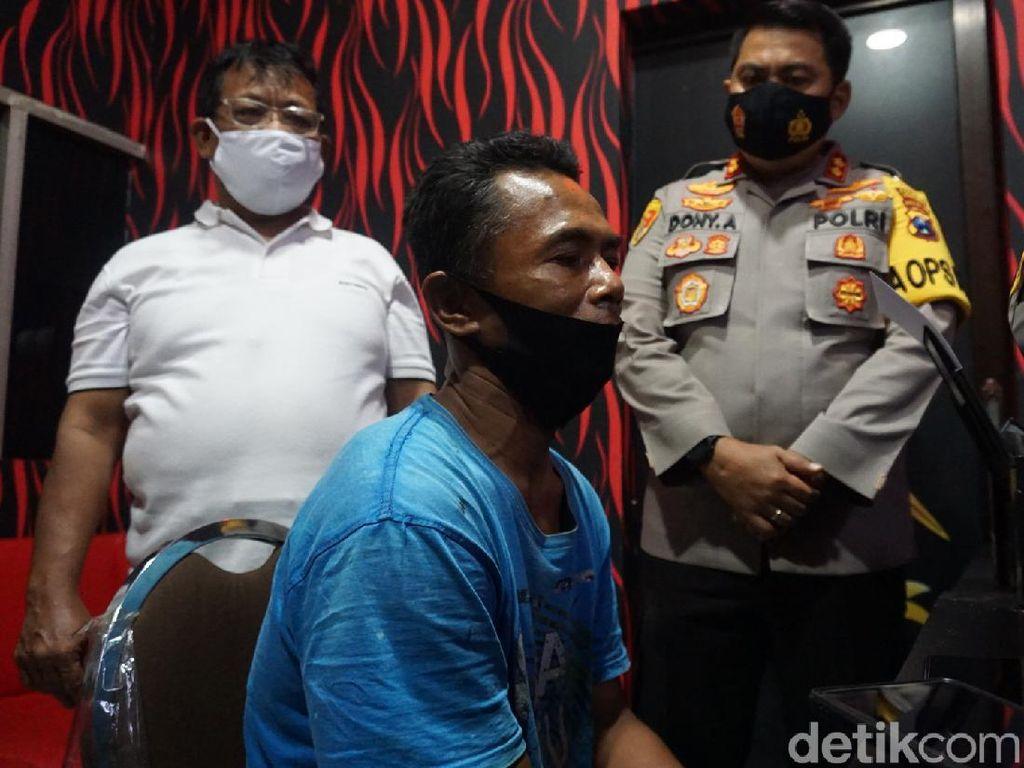 Ini Tampang Pembunuh Mandor Proyek yang Sambangi Istri Siri di Mojokerto