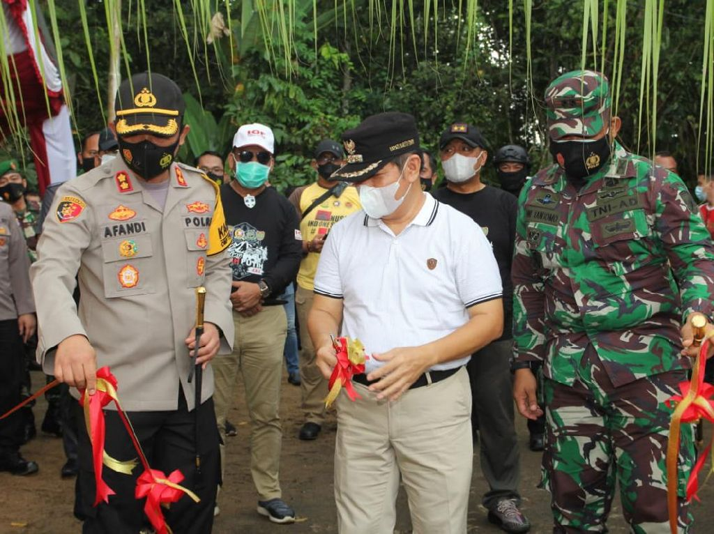 Kapolda Kalteng Resmikan Renovasi Situs Cagar Budaya di Barito Timur