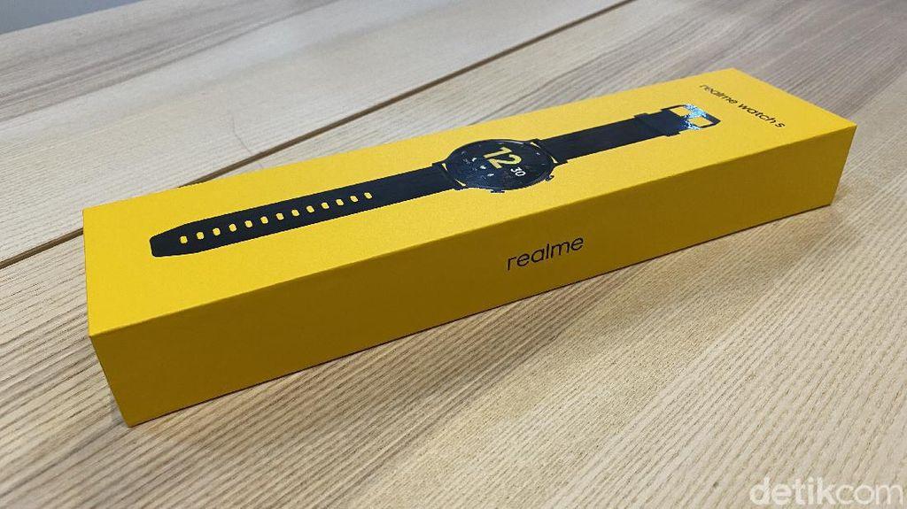 Unboxing Realme Watch S, Jam Pintar Rp 1 Jutaan Kaya Fitur