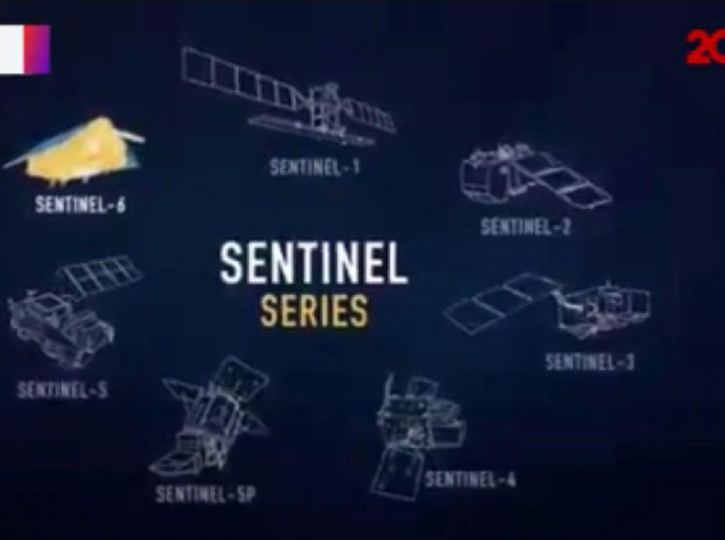 Tugas Satelit Sentinel-6 yang Diluncurkan NASA ke Orbit Bumi