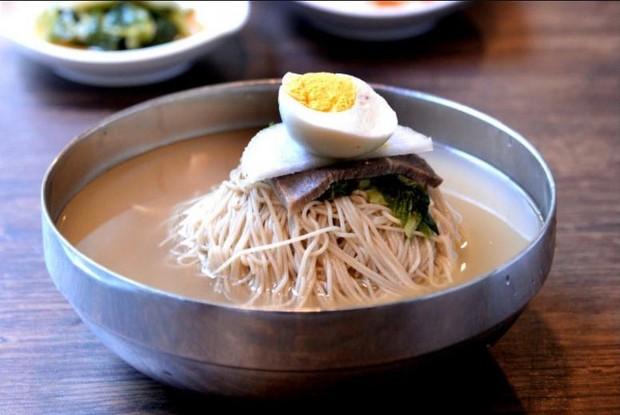 Nangmyeon, mie dingin ala korea