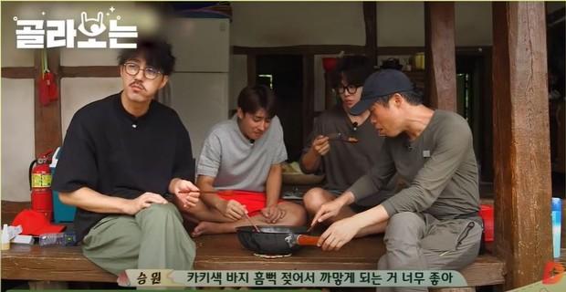 Para aktor di variety show three meals a day