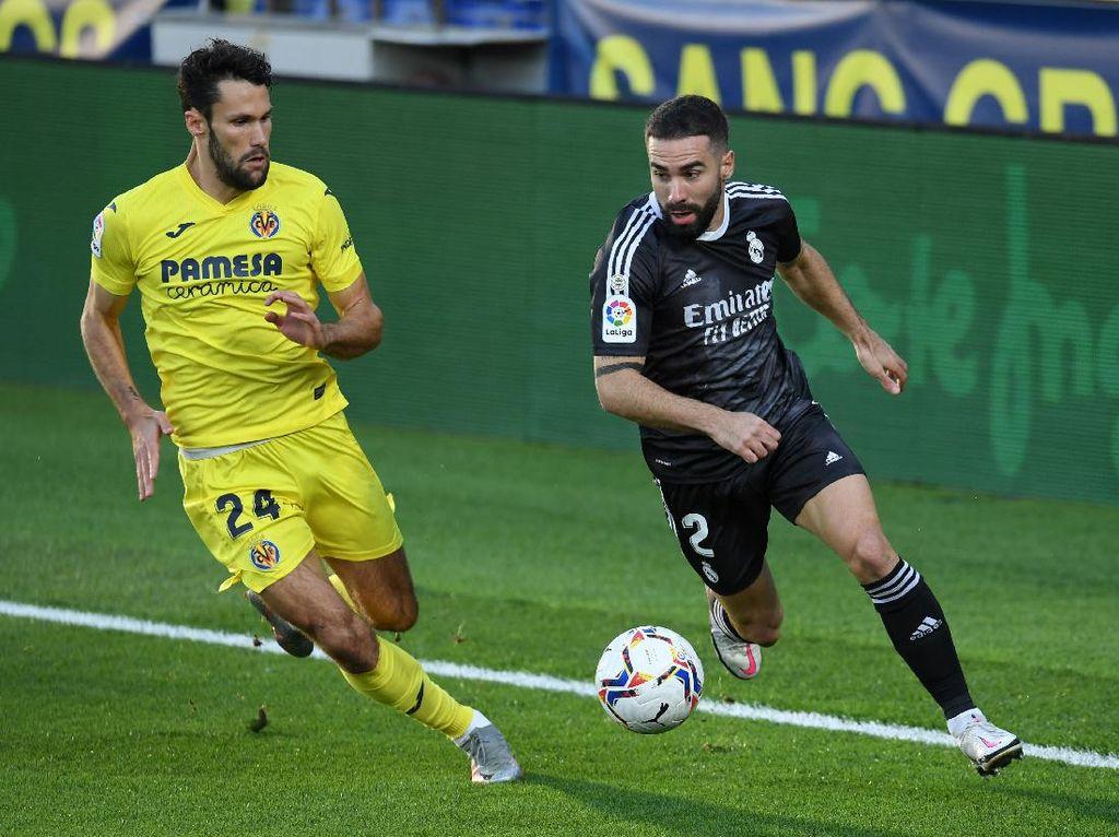 Villarreal Vs Madrid: Los Blancos Ditahan Imbang 1-1