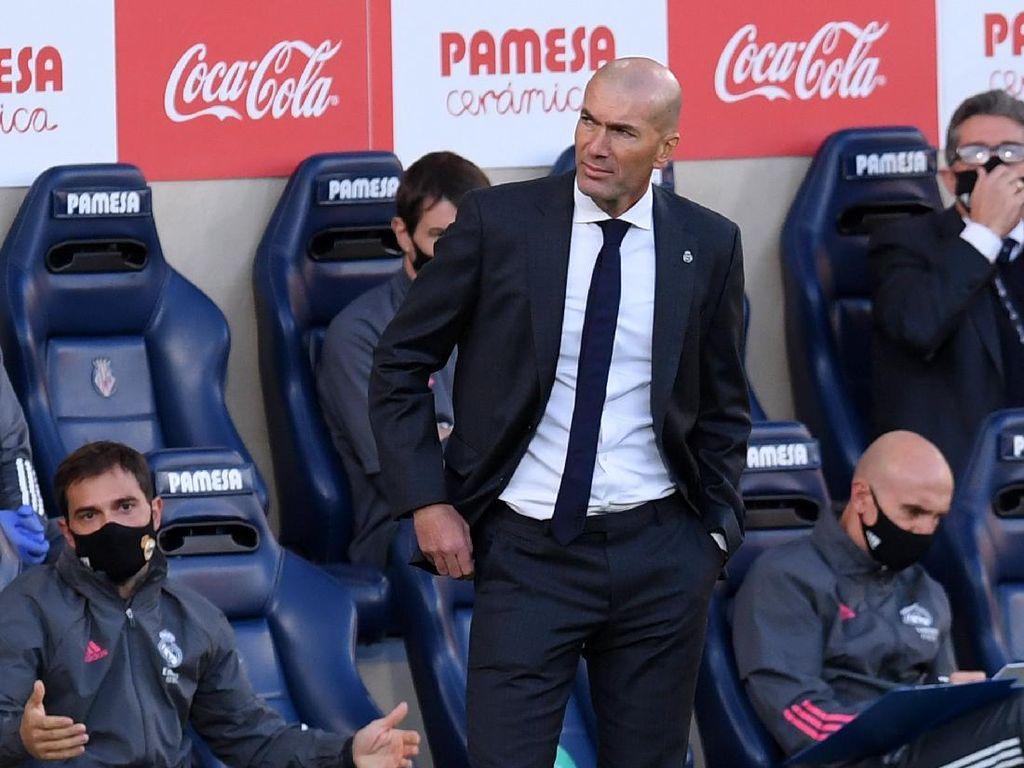 Zidane Kesal Madrid Gagal Menang