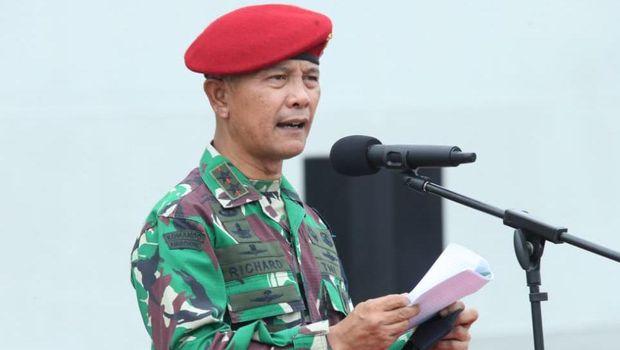 Dankoopssus TNI Mayjen Richard Tampubolon