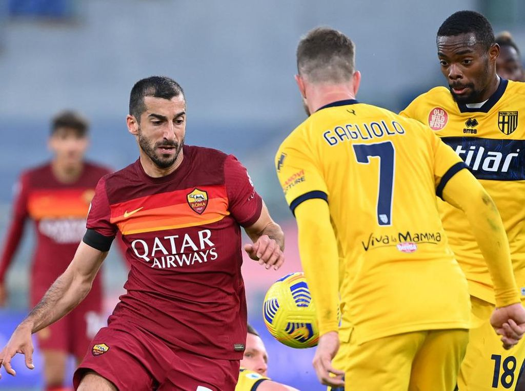 Henrikh Mkhitaryan Lagi On Fire di AS Roma