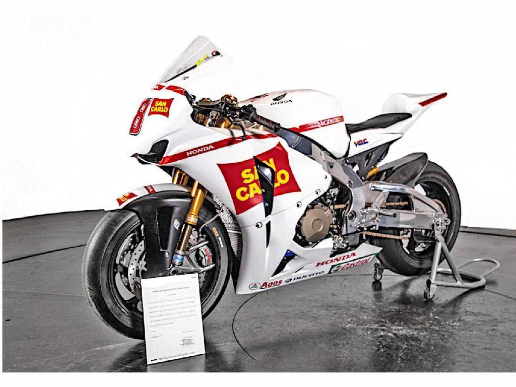 Honda CBR1000RR Bekas Marco Simoncelli Dijual Rp 800 Jutaan