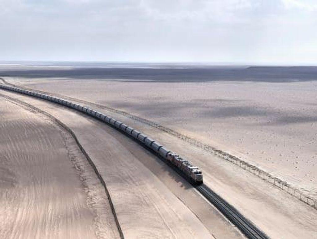 Mega Proyek UEA, Jaringan Kereta Api Nasional Pertama Sejauh Ribuan Km