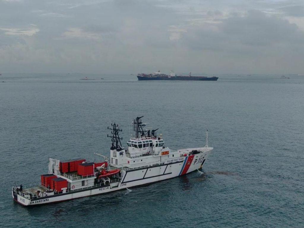 Kapal Kandas di Selat Singapura, Kemenhub Kerahkan 2 Kapal Patroli