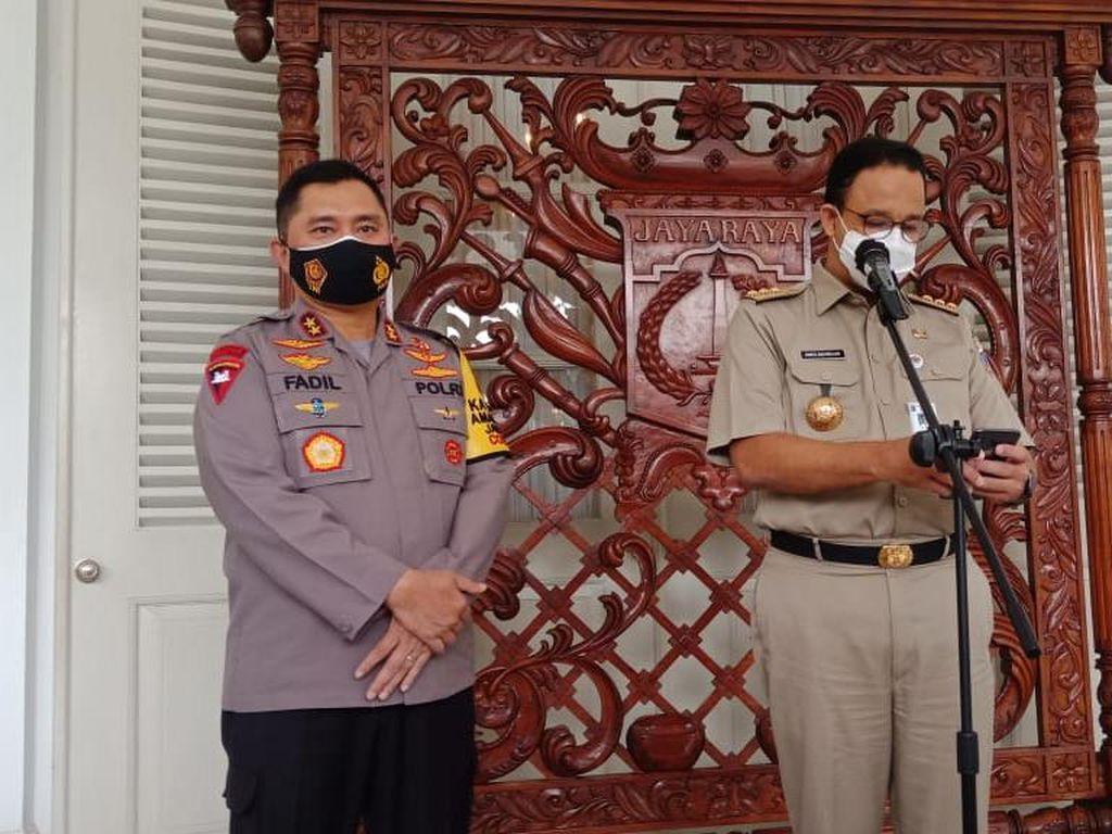 Didatangi Kapolda Baru, Anies: Saling Dukung Pastikan Jakarta Kondusif