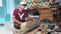 Miniatur Kepal Bambu Ini Laku Rp 12 Juta Lho