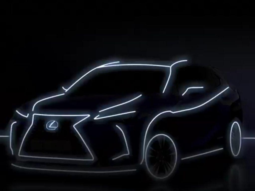 Mobil Listrik Lexus Launching di RI 25 November, Ini Bocorannya