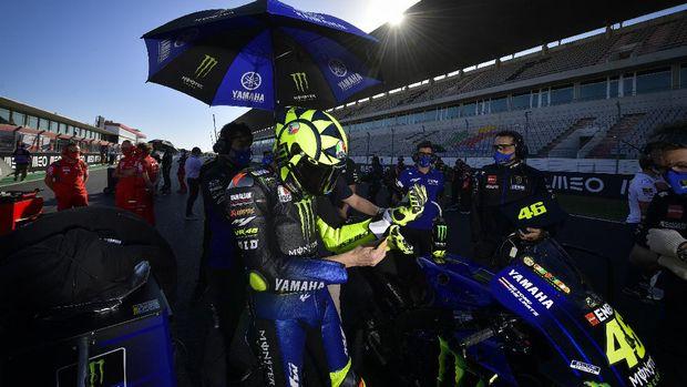 Valentino Rossi di MotoGP Portugal 2020.