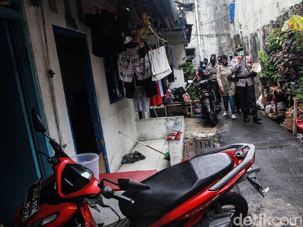 Sempat Ditolak Masuk Gang Rumah HRS, Dandim Jakpus: Petamburan Ini NKRI