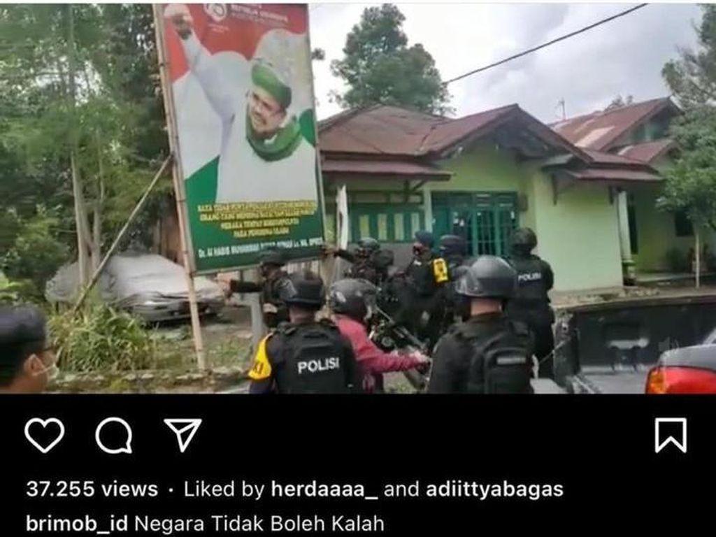 Jarimu Harimaumu, Tulis Brimob Kacung China Pemuda di Bogor Kena ITE