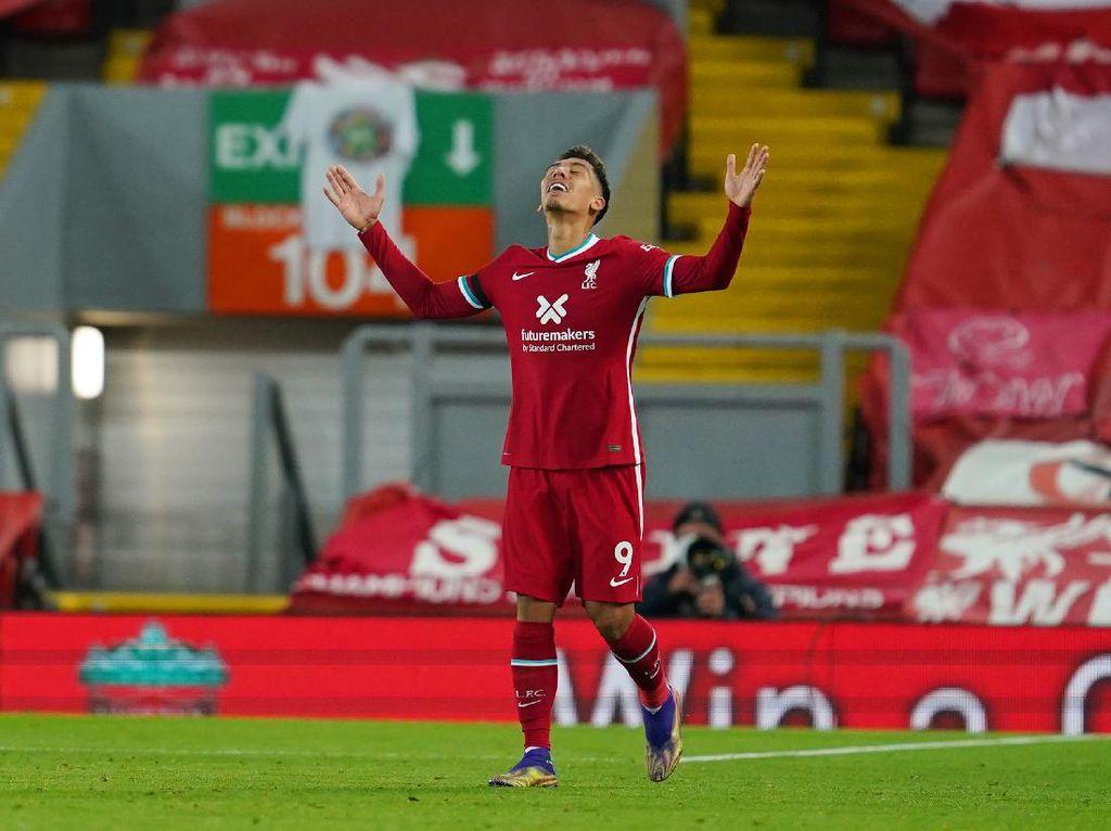 Roberto Firmino Bungkam Kritik di Laga Liverpool Vs Leicester