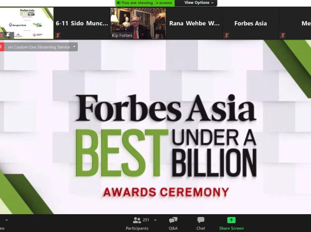 Raih Penghargaan dari Forbes, Ini Kiat Sukses Bos Sido Muncul