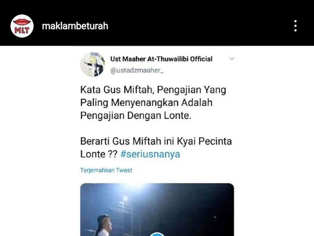 Kata MUI Jateng Soal Viral Lagi Pengajian Dengan Lonte Gus Miftah