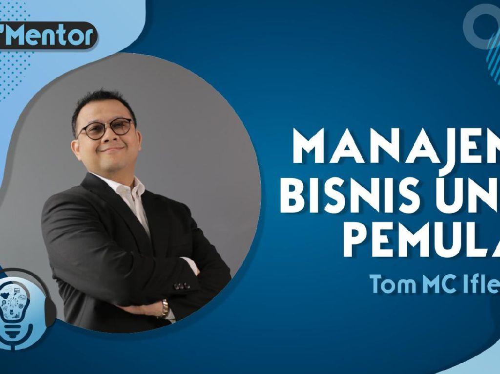 Tom MC Ifle Sharing Soal Manajemen Bisnis