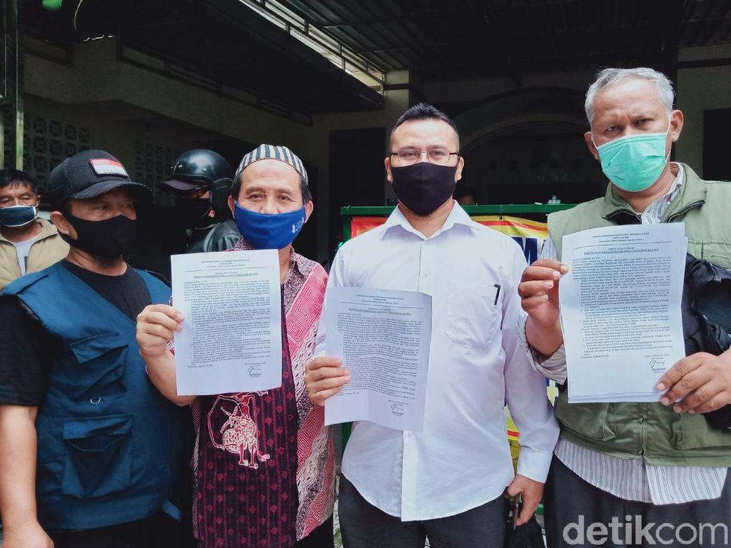 Geruduk Kejari Klaten, Warga Adukan Dugaan Korupsi Proyek Jembatan Rp 1,9 M