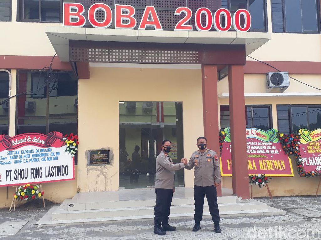 Pelepasan dan Penyambutan Kapolres Bojonegoro