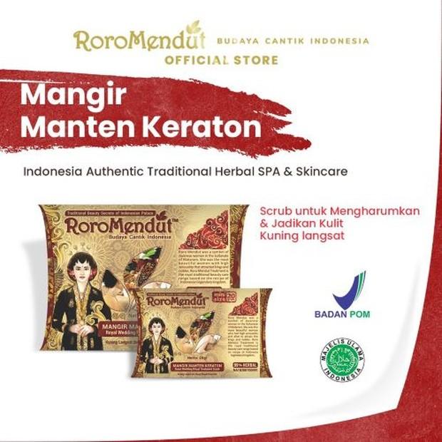 Roro Mendut Mangir Manten Keraton/ Foto: roromendutskinbeauty.com