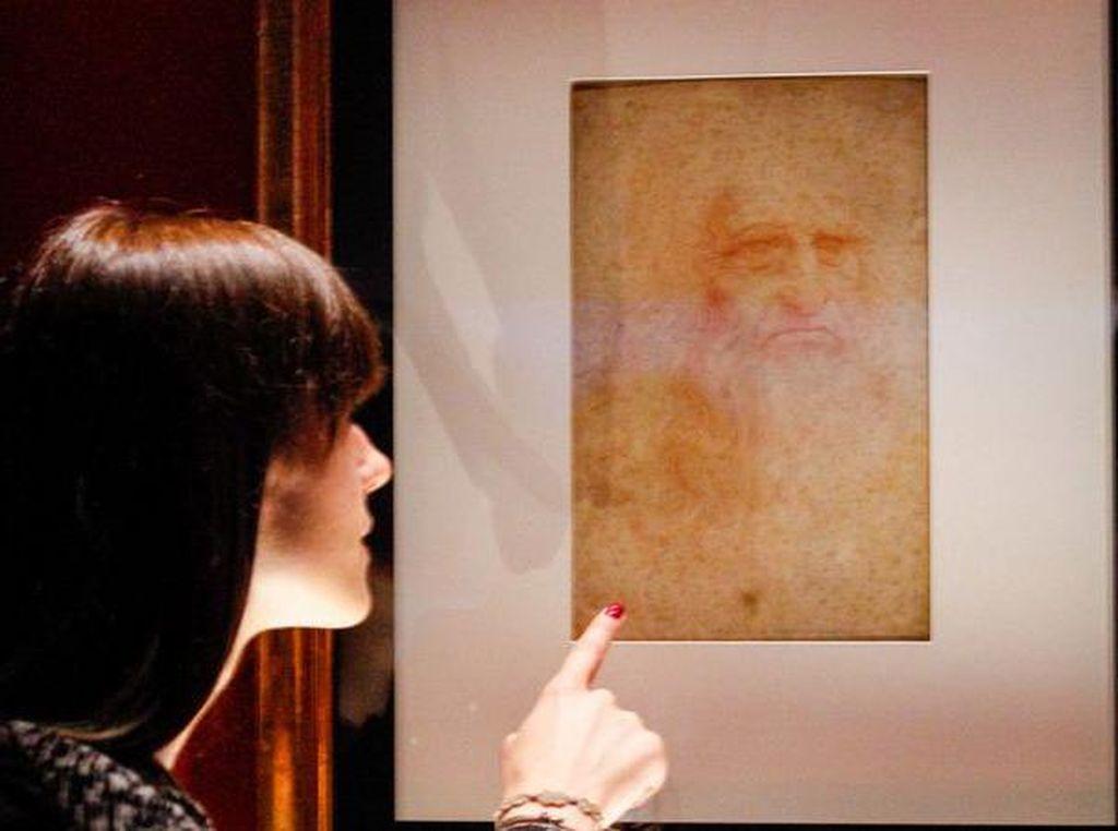 Ada Bakteri hingga DNA di Lukisan Leonardo da Vinci, Benarkah?