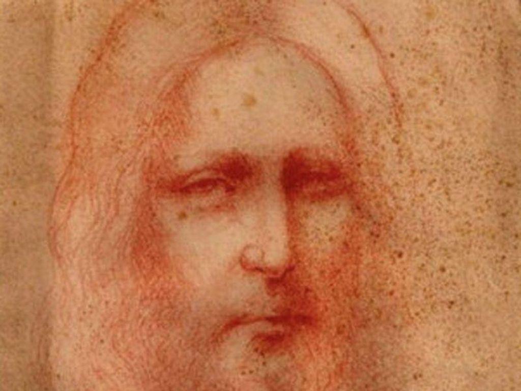 Sketsa Yesus Karya Leonardo da Vinci Ditemukan Setelah Berabad Hilang