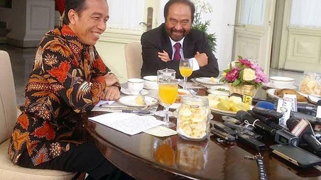 Surya Paloh Sering Makan Bareng Politisi hingga Presiden
