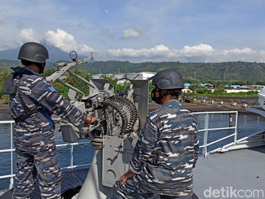 TNI AL Gelar Latihan Rutin Jelang Pilkada Banyuwangi 2020