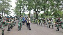 MPR Beri Piagam ke Prajurit TNI Penjaga Perbatasan RI-Papua Nugini