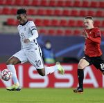 Babak I Rennes Vs Chelsea: Hudson-Odoi Bawa The Blues Unggul 1-0