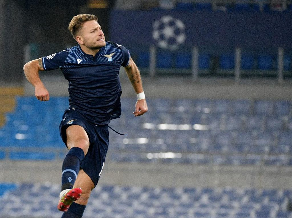 Lazio Vs Zenit: Immobile Cetak Brace, Biancocelesti Menang 3-1